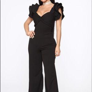 Black jumpsuit from fashionova